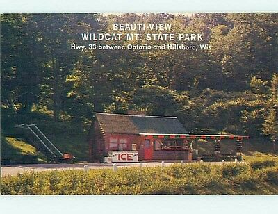 Pre-1980 COUNTRY STORE FOR CABINS AT STATE PARK Ontario And Hillsboro WI hk7055