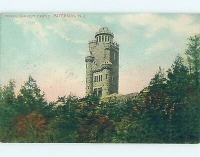 Divided-Back POSTCARD FROM Paterson New Jersey NJ HM7846