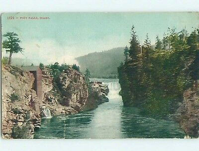 Divided-Back POSTCARD FROM Post Falls Idaho ID HM7074