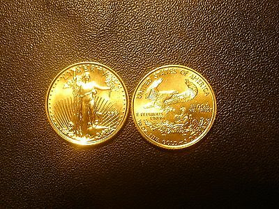 1998 $5 1/10 oz Gold US Mint American Eagle BU Coin