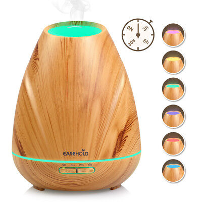 Easehold Humidifier LED Oil Ultrasonic Aroma Aromatherapy Diffuser Air Purifier