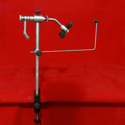 Adrenalin Table Mount Rotary Fly Tying Vice with Bonus Waste Basket
