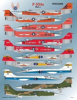 Victory Productions 1/32 F-104 Starfighters Part 1 - VPD32006