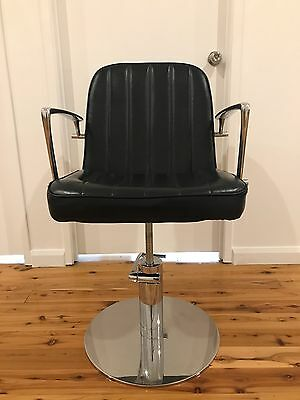 Set of 3 Comfortel Eleanor Salon Styling Chairs with Slim Line Hydraulic Base