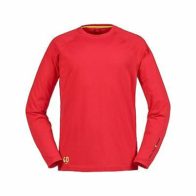 T-Shirt Musto Evolution Sunblock Manches Longues - True Red