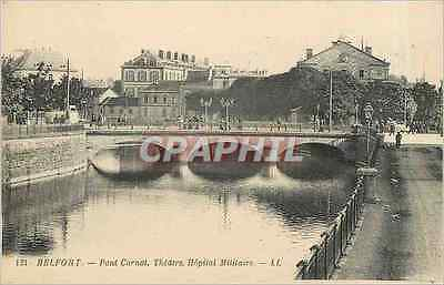 CPA Belfort Pont Carnot Theatre Hopital Militaire