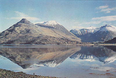 Scotland postcard PAP OF GLENCOE