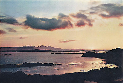 Scotland postcard RUM and EIGG