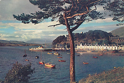 Scotland postcard PORTREE ISLE OF SKYE