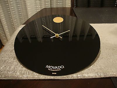 14'' Movado Dealer Showroom Wall Clock ,display original