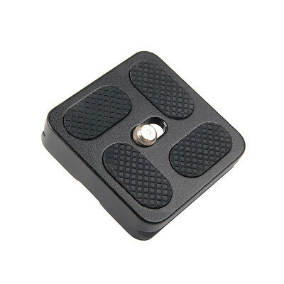 PU-40 Quick Release Plate For Digital Cameras Tripod Ballhead Lens Mount Adapter