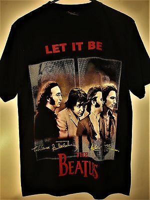 "The Beatles ""Let it Be"" T-Shirt Size M"