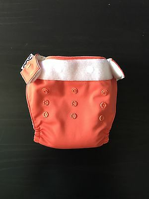 GroVia O.N.E Cloth Nappy In Persimmon
