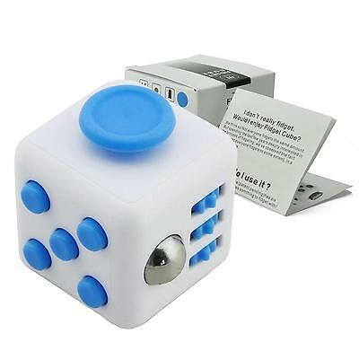 Fidget Cube Stress Anxiety De Sk Toy Relief 6 Sided 2017 For Adult Kids New