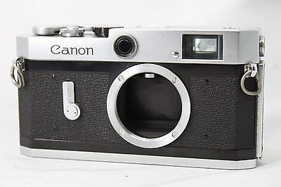 Canon Model P 35mm Rangefinder Film Camera Body Only #W019