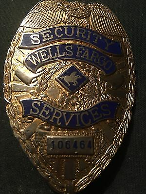 Police Badge Wells Fargo