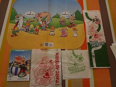 asterix et obelix lot collecteur parc paris