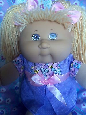 Cabbage Patch Kid Play Along Girl With Authentic Cpk Outfit & Birth Certificate