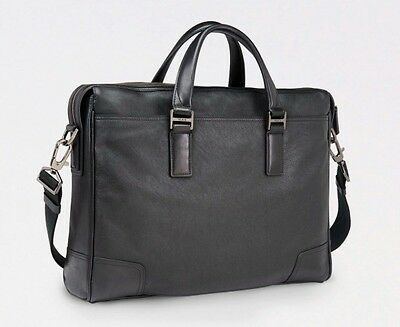 SALE! Tumi Irving Slim Leather Brief New With Tags Briefcase Laptop Bag NWT $495