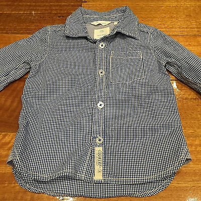 Country Road Baby Boy Shirt Size 0