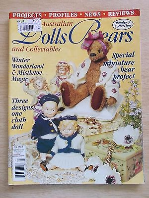 ADB&C Vol 8 #7~Doll & Bear Patterns~Tamilla~Zig Zag~Sailor Boy & Girl~Gladys