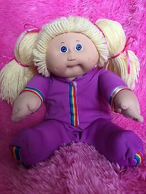 Cabbage Patch Vintage Coleco Girl Original Outfit!