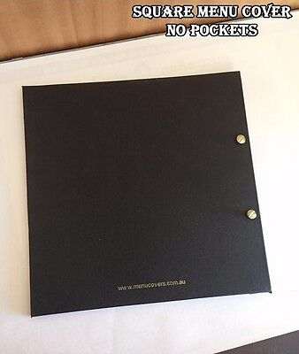Clearance 'Transport Mark' Square Menu Covers $200 for 20 units FREE SHIPPING