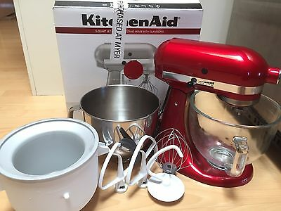 Kitchenaid Platinum Stand Bench Mixer