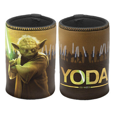 Star Wars Can Cooler Stubby Beer Holder TYPE: MUSICAL YODA (Cooler Plays Music)