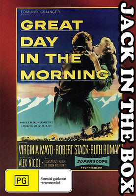 Great Day In The Morning  DVD NEW, FREE POSTAGE WITHIN AUSTRALIA REGION ALL