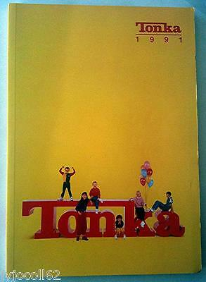Très rare catalogue magasin Tonka (ex Polistil) France 1991 166 pages vintage