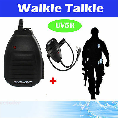 BAOFENG Shoulder Handheld BAOFENG UV5R Speaker Mic Walkie Talkie UV5R Radio