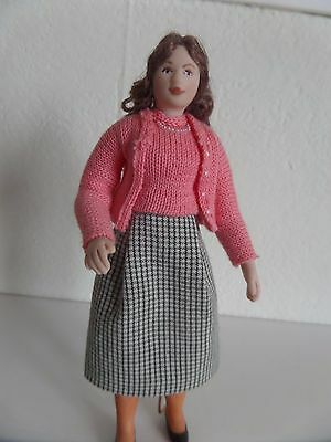 12th  scale 1950/60 style lady dolls house doll