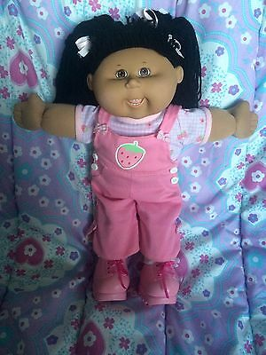 Cabbage Patch Kid Play Along Hispanic Girl Wearing Original Cpk Clothes