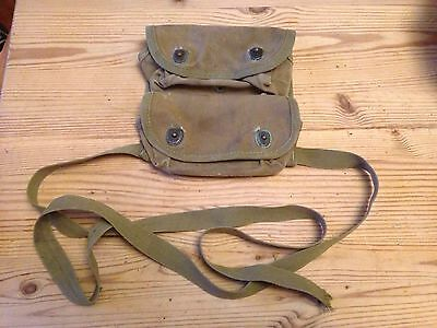 Original Ww2 Us Army Grenade Pouch