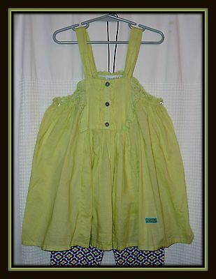 SWEET Girls Youth Size 8 / 9 Years NAARTJIE Kids 2-pc OUTFIT Set, NEW w/Tags!