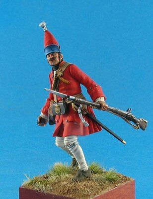 Russian infantry White metal figures Metal kit 54mm Tin toy soldier