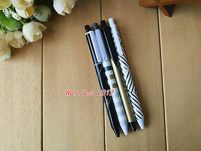 12 pcs M&G 0.5mm Minimalist Style Retractable gel ink pen,Black ink,WF253