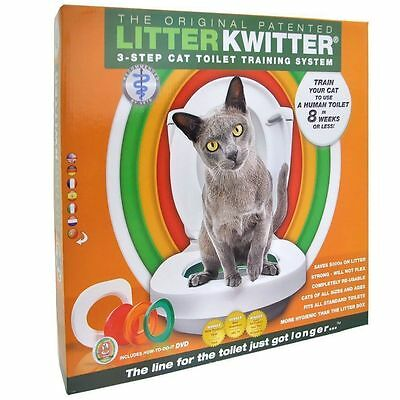 Litter Kwitter Cat Toilet Training System With Instructional