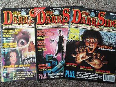 3 Issues of the Dark Side Magazine