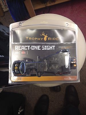 React one compound bow sight.