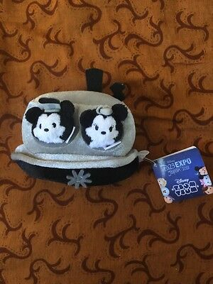 D23 Japan Expo 2015 Steamboat Mickey And Minnie Mame TsumTsum