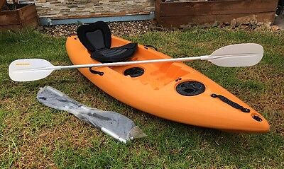 Kayak 8ft Ridge Ryder w/ 2x Paddles & Seat