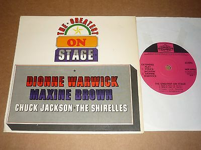 """The Greatest On Stage"" Pye International EP (Maxine Brown/Dionne Warwick)"