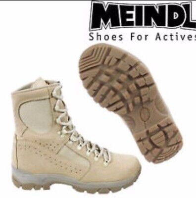 British Army  - Meindl Desert Fox Boots Various Sizes - New in Box