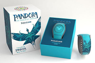 Disney Pandora World Of Avatar Magicband 2 Passholder Exclusive LE Magic Band