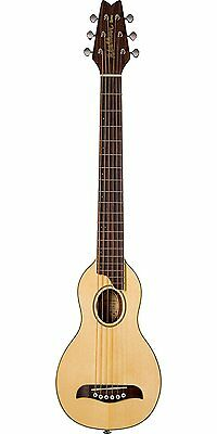 Washburn RO10E Travel Size Electro Acoustic Guitar with Pick Up - Natural