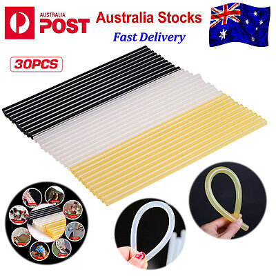 30PCS PDR Adhesive Hot Melt Glue Sticks for Paintless Dent Removal Tool AU Stock