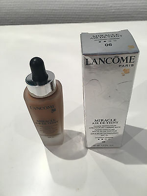 LANCOME MIRACLE AIR DE TEINT MAKE-UP NR. 06 BEIGE CANNELLE 30 ml OVP