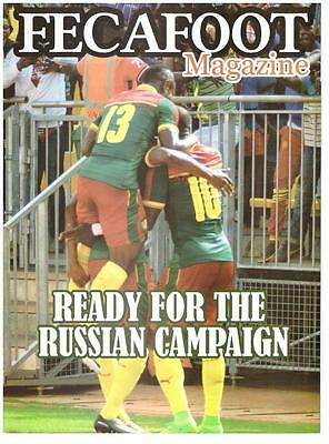 official Cameroon edition CONFEDERATION CUP 2017 RUSSIA/ GERMANY AUSTRALIA CHILE
